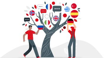velika ponuda stranih jezika